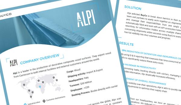 BuyCo Alpi Case Study