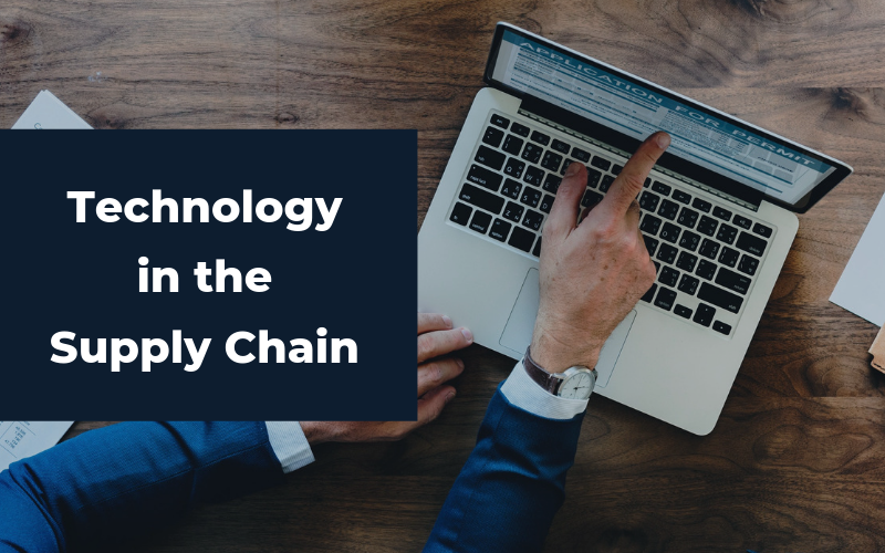 training and technology in the supply chain